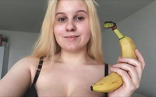 ANAL BANANA!!!  Small-minded CUCUMBER! IT'S A BANANA Be useful to MY ASS! :)