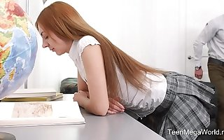 TeenMegaWorld.net - Veronika Fare - Loved Student Fucks Her Gung-ho Teacher