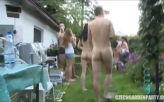 Homemade Czech Garden Party