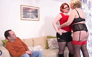 Mature busty mothers sharing so happy supplicant