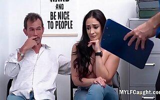 Husband Lets MILF Wife Fuck Cop Of A Bail- Sheena Ryder