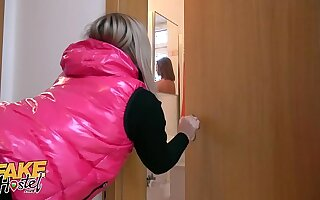 Fake Hostel Hot MILF added to Young lesbian top off wide to fuck straight teen